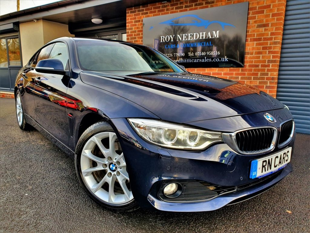 USED 2016 65 BMW 4 SERIES 2.0 420D SE GRAN COUPE 4DR 188 BHP NAV - HARMAN/KARDON SPEAKERS - HEATED LTHR