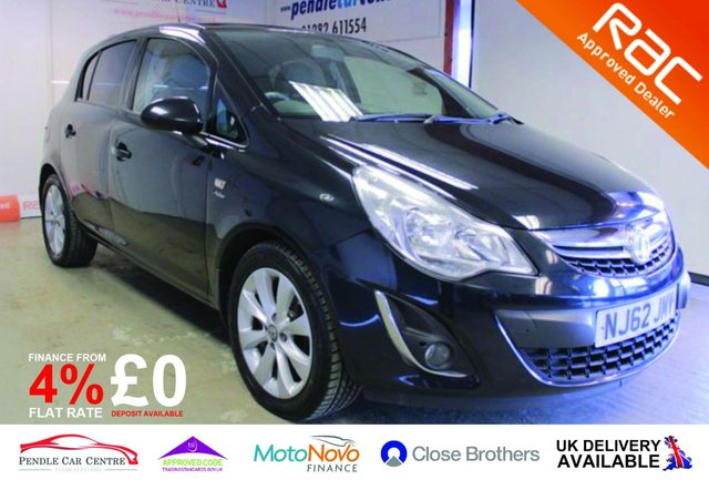 USED 2012 62 VAUXHALL CORSA 1.2 ACTIVE AC CDTI ECOFLEX 5d 74 BHP RAC Approved I Finance From 4% Flat I RAC Platinum Warranty Included