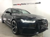 USED 2016 16 AUDI A6 2.0 TDI ULTRA BLACK EDITION 4d 188 BHP * GENUINE BLACK EDITION *