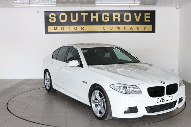 USED 2011 61 BMW 5 SERIES 2.0 520D M SPORT 4d 181 BHP