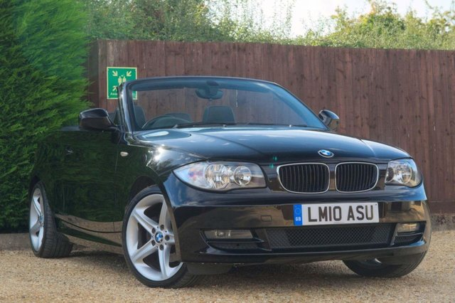 2010 10 BMW 1 SERIES 2.0 118i Sport 2dr CONVERTIBLE (2010)