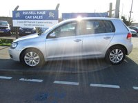 2012 VOLKSWAGEN GOLF 1.6 MATCH TDI BLUEMOTION TECHNOLOGY 5d 103 BHP £5495.00