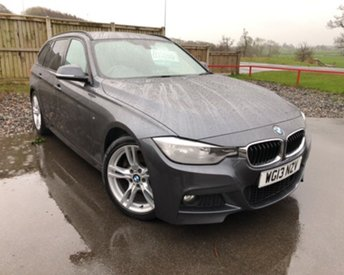 2013 BMW 3 SERIES 2.0 320D M SPORT TOURING 5d 181 BHP £10995.00