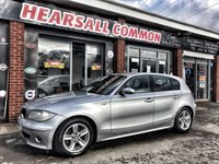 USED 2006 06 BMW 1 SERIES 2.0 120D SPORT 5d 161 BHP