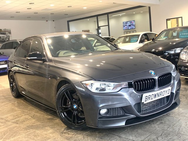 USED 2015 64 BMW 3 SERIES 3.0 330D M SPORT 4d 255 BHP BM PERFORMANCE STYLING+6.9%APR