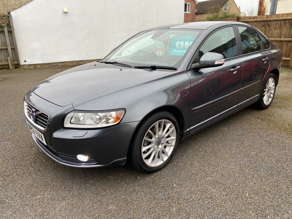 USED 2012 12 VOLVO S40 1.6 DRIVE SE LUX EDITION S/S 4d 113 BHP