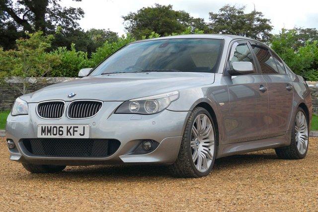 2006 06 BMW 5 SERIES 3.0 535d M Sport 4dr SALOON (2006)