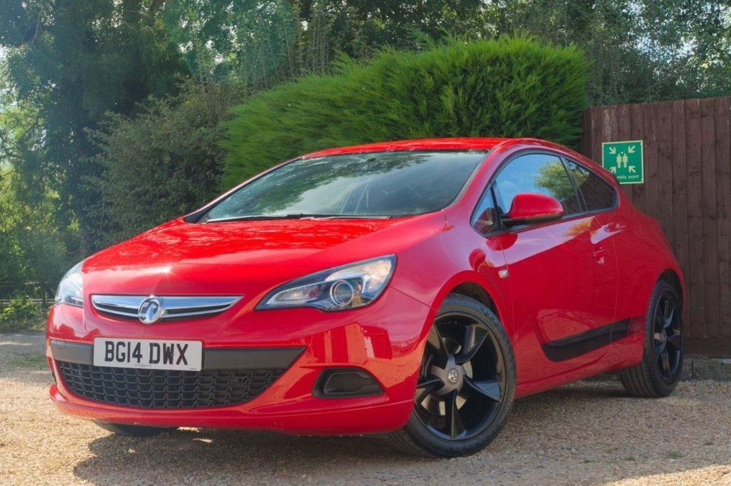 USED 2014 14 VAUXHALL ASTRA 1.4 i Turbo 16v Sport ss 3dr COUPE (2014) *Now Sold! Thank you*