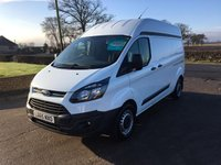 2015 FORD TRANSIT CUSTOM