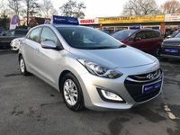 USED 2015 64 HYUNDAI I30 1.6 ACTIVE CRDI  5d 109 BHP IN METALLIC SILVER WITH 52,000 MILES AND A FULL SERVICE HISTORY! AUTOMATIC! APPROVED CARS AND FINANCE ARE PLEASED TO OFFER THIS HYUNDAI I30I 1.6 ACTIVE CRDI 5d 109 BHP IN METALLIC SILVER WITH 52,000 MILES AND A FULL SERVICE HISTORY. THIS VEHICLE HAS A GREAT SPEC SUCH AS CRUISE CONTROL, ALLOY WHEELS, REAR PARKING SENSORS, ELECTRIC FRONT AND REAR WINDOWS, BLUETOOTH CONNECTIVITY, HILL START ASSIST, AIR CONDITIONING AND MUCH MORE. THIS VEHICLE IS A EXTREMELY POPULAR VEHICLE DUE TO THE AUTOMATIC GEARBOX AND A VERY CHEAP VEHICLE TO RUN DUE TO THE LOW ENGINE SIZE. FOR FURTHER