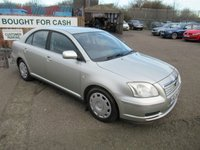USED 2005 05 TOYOTA AVENSIS 1.8 T2 COLOUR COLLECTION VVT-I 5d 128 BHP