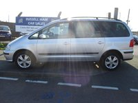 USED 2008 58 SEAT ALHAMBRA 2.0 REFERENCE TDI 5d 139 BHP 10 Stamps Of Service History. 2 Owner Car. New MOT & Full Service Done on purchase + 2 YEARS FREE MOT TEST & 2 YEARS FULL SERVICE'S INCLUDED. 3 Months Russell Ham Quality Warranty . All Car's Are HPI Clear . Finance Arranged - Credit Card's Accepted . for more cars www.russellham.co.uk  + Spare Key & Owners Book Pack.