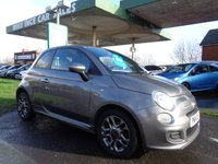 USED 2014 14 FIAT 500 1.2 S 3d 69 BHP 4 SERVICE STAMPS