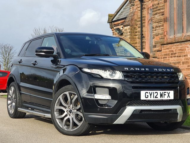 2012 12 LAND ROVER RANGE ROVER EVOQUE 2.2 SD4 DYNAMIC 5d 190 BHP