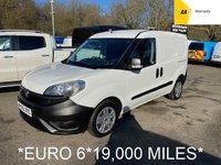 2016 FIAT DOBLO *EURO 6* 1.2 16V MULTIJET 90 BHP *19,000 MILES* £6495.00