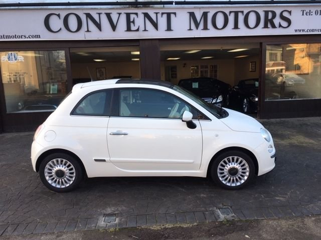 USED 2013 62 FIAT 500 1.2 LOUNGE DUALOGIC 3d 69 BHP