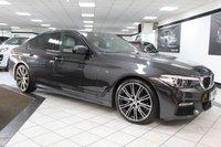 USED 2017 17 BMW 5 SERIES 2.0 520D M SPORT AUTO 190 BHP 1 OWNER FBMWSH H&K PRO NAV 20s
