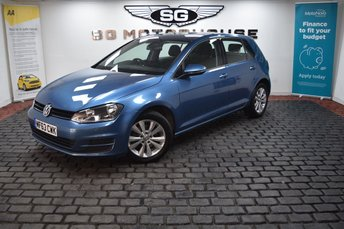 2013 VOLKSWAGEN GOLF 1.6 SE TDI BLUEMOTION TECHNOLOGY DSG 5d 103 BHP £8795.00