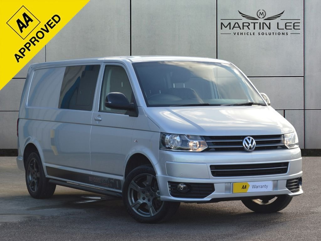 USED 2015 15 VOLKSWAGEN TRANSPORTER SPORTLINE 2.0 T32 TDI SPORTLINE KOMBI 180 BHP EDITION 60  LUXURY FULLY UPGRADED 6 SEATER T32 S LINE