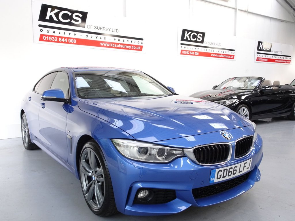USED 2016 66 BMW 4 SERIES 2.0 420D XDRIVE M SPORT GRAN COUPE 4d 188 BHP 4WD-PRO NAV- M-SPORT PLUS PACK
