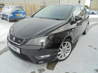 USED 2014 N SEAT IBIZA 1.6 CR TDI FR 5d 104 BHP Excellent Condition, No Deposit Finance Available, Part Exchange Welcomed