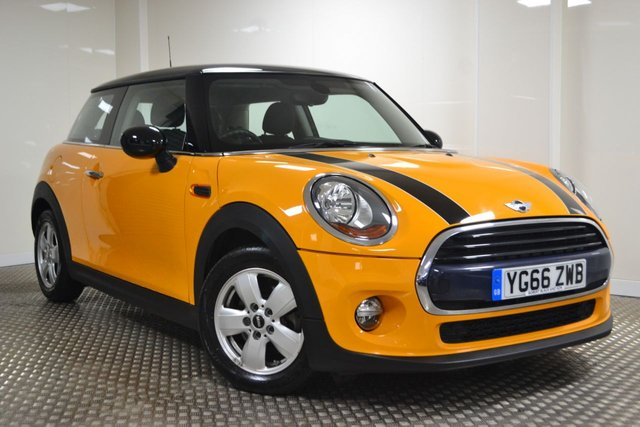 USED 2016 66 MINI HATCH COOPER 1.5 COOPER D 3d 114 BHP STUNNING MINI COOPER WITH BLACK ROOF