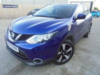 USED 2017 NISSAN QASHQAI 1.5 N-VISION DCI 5d 108 BHP Superb Condition, FSH, No Deposit Needed, Part Exchange Welcomed