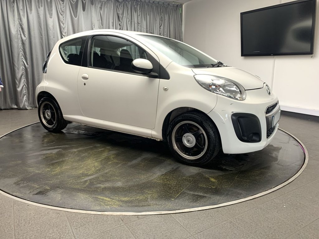 USED 2012 12 CITROEN C1 1.0 VTR 3d 67 BHP FREE UK DELIVERY, AIR CONDITIONING, AUX INPUT, CD/MP3/RADIO, CLIMATE CONTROL, DAYTIME RUNNING LIGHTS, ELECTRIC WINDOWS, TRIP COMPUTER