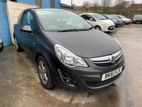 USED 2011 61 VAUXHALL CORSA 1.2 SXI A/C 3d 83 BHP SERVICE HISTORY