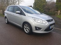 USED 2011 61 FORD GRAND C-MAX 1.6 ZETEC 5d 124 BHP **MOT**FULL SERVICE HISTORY**LOW MILES**LOVELY FAMILY CAR**