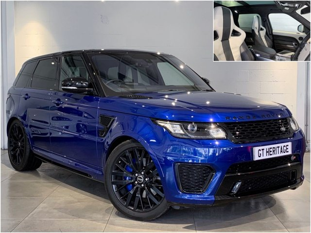 2016 16 LAND ROVER RANGE ROVER SPORT V8 SVR [HEADS UP][PAN][CARBON INLAYS][543 BHP]