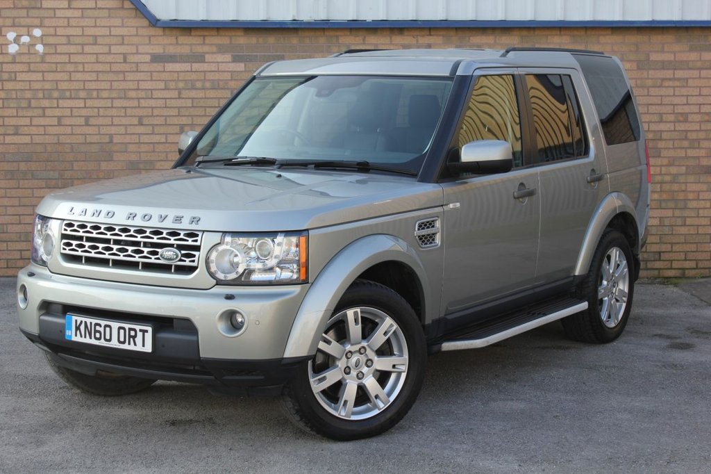 USED 2010 60 LAND ROVER DISCOVERY 3.0 4 TDV6 XS 5d 245 BHP