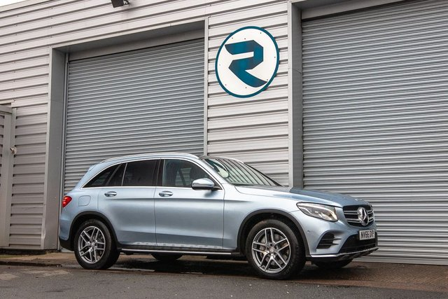 USED 2016 66 MERCEDES-BENZ GLC-CLASS 2.1 GLC 250 D 4MATIC AMG LINE PREMIUM PLUS 5d 201 BHP