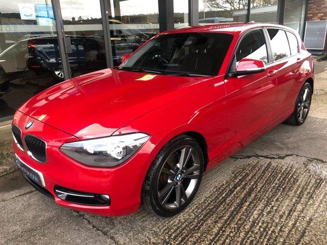 2013 13 BMW 1 SERIES 1.6 118I SPORT 5d 170 BHP