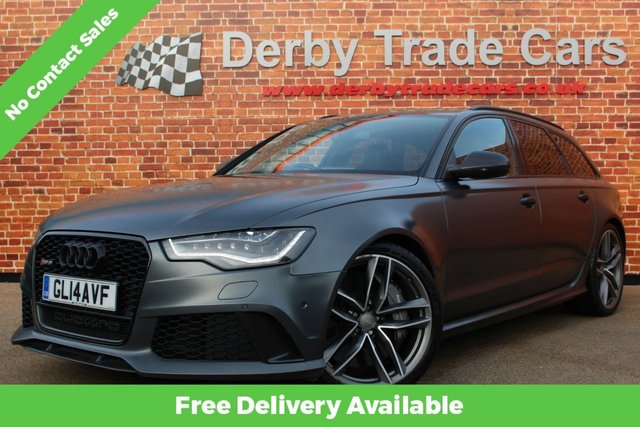 AUDI RS6 AVANT at Derby Trade Cars