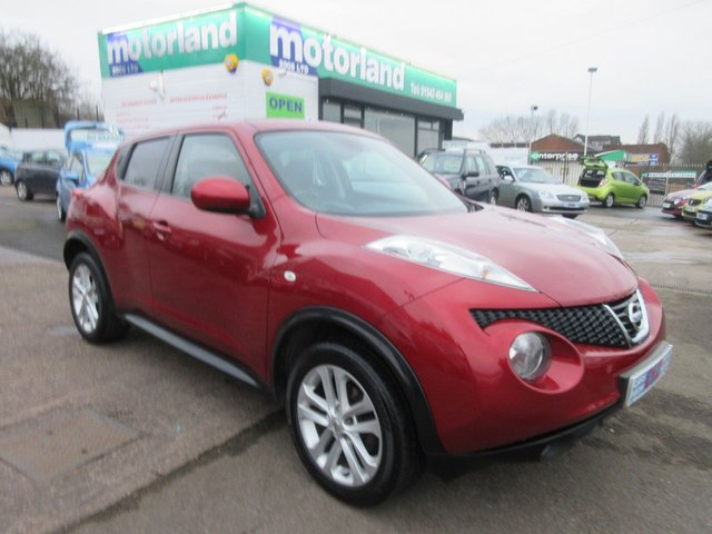 USED 2012 61 NISSAN JUKE 1.6 TEKNA 5d 117 BHP ***1 PRIVATE OWNER FROM NEW***