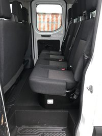 USED 2016 16 FORD TRANSIT 350 125PS DOUBLE CAB EXTRA LWB FACTORY EF DROPSIDE PICKUP