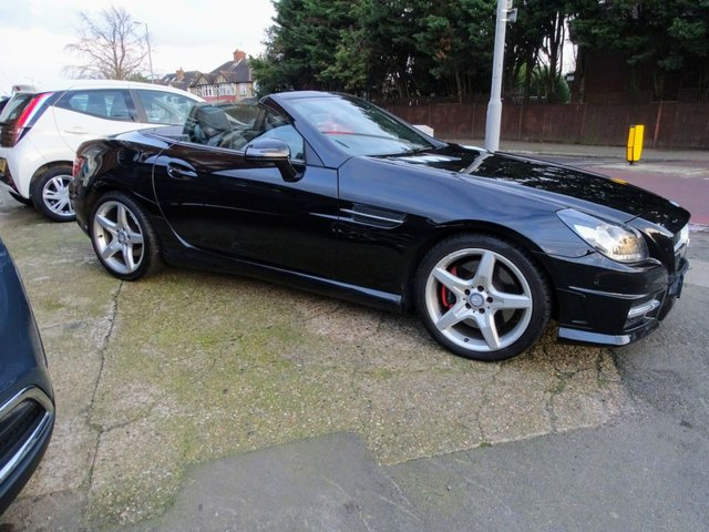 2013 63 MERCEDES-BENZ SLK 2.1 SLK250 CDI BLUEEFFICIENCY AMG SPORT 2d 204 BHP