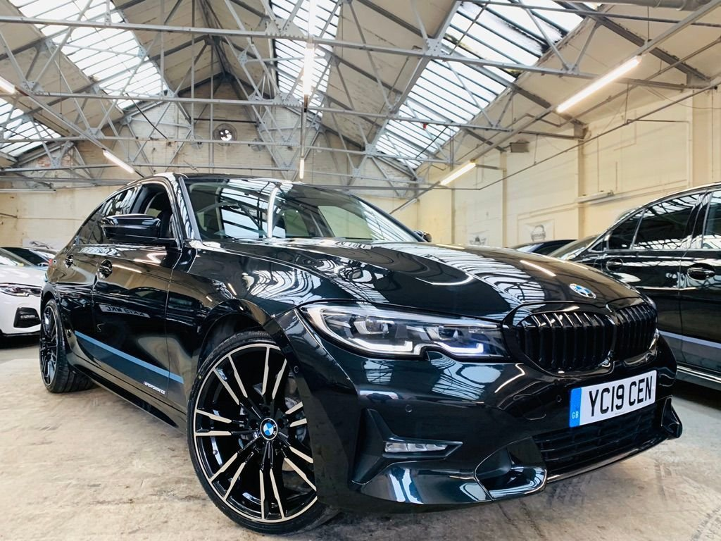 USED 2019 19 BMW 3 SERIES 2.0 320d Sport Auto (s/s) 4dr PERFORMANCE-KIT+REVCAM+ 20S