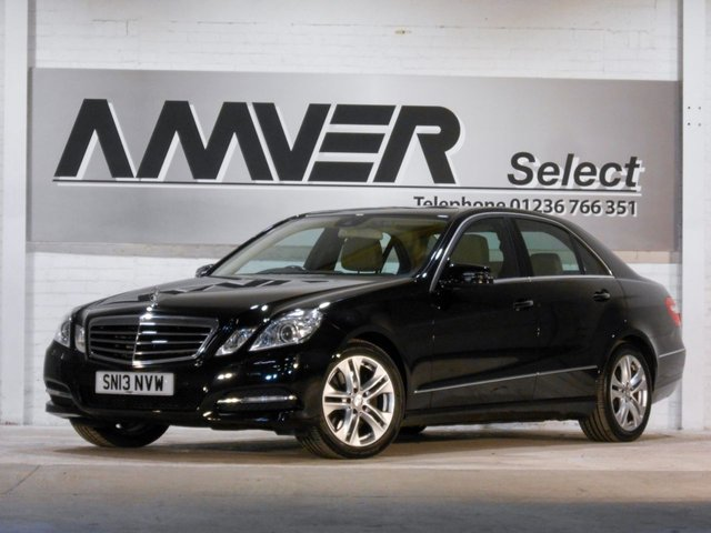 2013 13 MERCEDES-BENZ E CLASS 3.0 E350 CDI BLUEEFFICIENCY S/S AVANTGARDE 4d 265 BHP