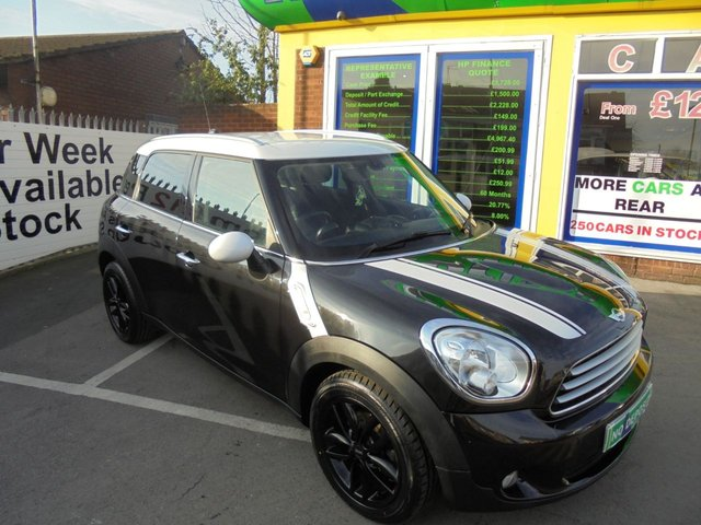 USED 2013 P MINI COUNTRYMAN 1.6 COOPER D 5d 112 BHP JUST ARRIVED  5 DOOR M.P.V