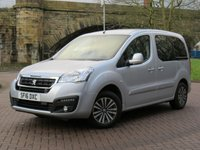USED 2016 16 PEUGEOT PARTNER 1.6 BLUE HDI S/S TEPEE ACTIVE 5d 98 BHP