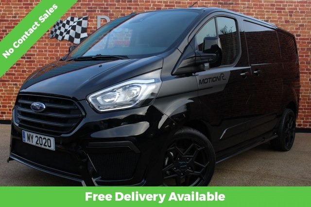 FORD TOURNEO CUSTOM at Derby Trade Cars