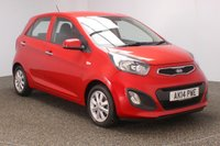 USED 2014 14 KIA PICANTO 1.0 VR7 5DR 68 BHP FULL SERVICE HISTORY + FREE 12 MONTHS ROAD TAX + PARKING SENSOR + BLUETOOTH + MULTI FUNCTION WHEEL + AIR CONDITIONING + RADIO/CD/AUX/USB + ELECTRIC WINDOWS + ELECTRIC MIRRORS + 14 INCH ALLOY WHEELS
