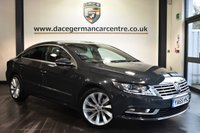 "USED 2016 65 VOLKSWAGEN CC 2.0 GT TDI BLUEMOTION TECHNOLOGY 4DR 148 BHP Finished in a stunning metallic grey styled with 18"" alloys. Upon opening the drivers door you are presented with full red/black leather interior, full service history, satellite navigation, bluetooth, heated seats, cruise control, DAB radio, climate control, multi functional steering wheel, heated mirrors, parking sensors, ULEZ EXEMPT"