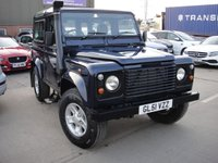 USED 2002 51 LAND ROVER DEFENDER 2.5 90 COUNTY S/W TD5 3d 120 BHP ANY PART EXCHANGE WELCOME, COUNTRY WIDE DELIVERY ARRANGED, HUGE SPEC