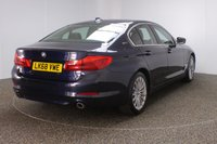 USED 2018 68 BMW 5 SERIES 2.0 530E SE 4DR AUTO 1 OWNER 249 BHP FULL BMW SERVICE HISTORY + HEATED LEATHER SEATS + SATELLITE NAVIGATION PROFESSIONAL + PARKING SENSOR + BLUETOOTH + CRUISE CONTROL + CLIMATE CONTROL + MULTI FUNCTION WHEEL + DAB RADIO + XENON HEADLIGHTS + ELECTRIC SEATS + ELECTRIC WINDOWS + ELECTRIC/HEATED DOOR MIRRORS + 18 INCH ALLOY WHEELS