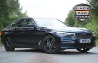 USED 2018 68 BMW 5 SERIES 2.0 530E SE 4DR AUTO 1 OWNER 249 BHP FULL BMW SERVICE HISTORY + HEATED LEATHER SEATS + SATELLITE NAVIGATION PROFESSIONAL + BRAND NEW 19 INCH ALLOY WHEELS + PARKING SENSOR + BLUETOOTH + CRUISE CONTROL + CLIMATE CONTROL + MULTI FUNCTION WHEEL + DAB RADIO + PRIVACY GLASS + XENON HEADLIGHTS + ELECTRIC SEATS + ELECTRIC WINDOWS + ELECTRIC/HEATED DOOR MIRRORS