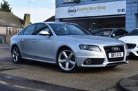 USED 2011 11 AUDI A4 3.0 TDI QUATTRO S LINE 4d 240 BHP FINANCE APPROVAL IN UNDER A MINUTE