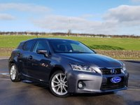 USED 2012 12 LEXUS CT 1.8 200H SE-L PREMIER 5d 136 BHP FULL SERVICE HISTORY, HYBRID ELECTRIC, £0 ROAD TAX